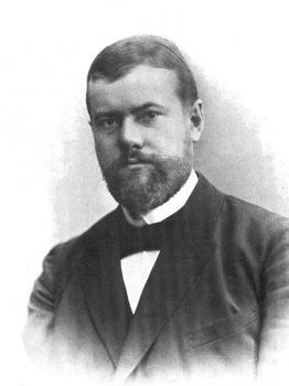 Nemecký filozof Max Weber je zakladateľ sociológie
