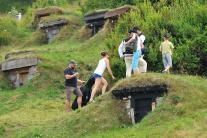 Turisti a pivničky