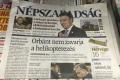 Zrušený Népszabadság predávajú ako prílohu časopisu bezdomovcov
