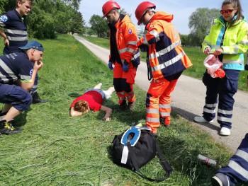 Študenti Fakulty zdravotníctva KU opäť úspešní v záchranárskej súťaži