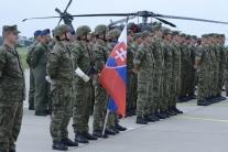 Odovzdanie vrtuľníkov Black Hawk