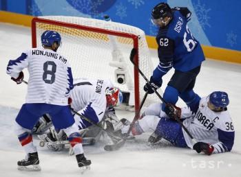 ZOH: Fíni zdolali Kórejskú republiku, vo štvrťfinále proti Kanade