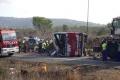 Pri havárii autobusu a kamióna zahynulo v Kalifornii 13 ľudí