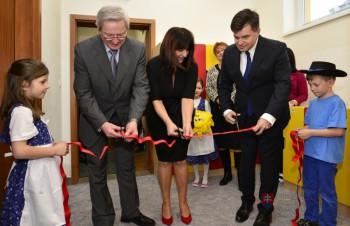 Minister Peter Plavčan otvoril novú budovu materskej školy v Zálesí