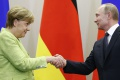 Putin zablahoželal Merkelovej k volebnému víťazstvu