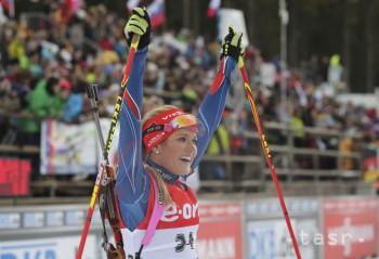 Biatlon: Soukalová vyhrala na SP aj stíhačku, Gereková neštartovala