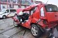 VIDEO: Nehody v Bratislave si vyžiadali troch zranených