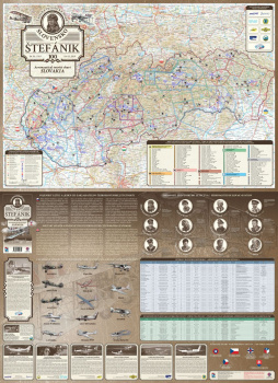 Aeroturistická mapa nazvaná po generálovi je vytlačená, čaká ju krst