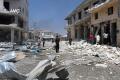 Nálety na dve nemocnice v Aleppe zabili dvoch pacientov