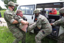 Vojaci sa pripravujú na misiu UNFICYP