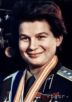 Prvou ženou na svete, ktorá letela do vesmíru, bola Tereškovová