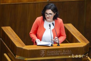Lubyová: Oceňujem dôveru poslancov a podnety, ktoré odzneli v diskusii