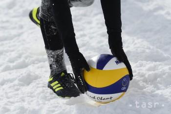 Naše volejbalistky neprešli cez osemfinále na ME v Snow Volleyballe