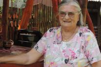 Na snímke Valéria Zúbeková z obce Kľak