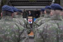 Peter Gajdoš, rozlúčka, vojenská polícia