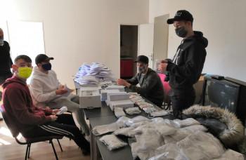 Futbalisti MFK Ružomberok pomáhajú seniorom