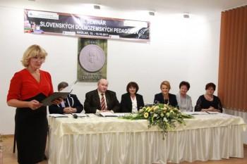Na 8.seminári slovenských dolnozemských pedagógov aj zástupcovia ŠPÚ