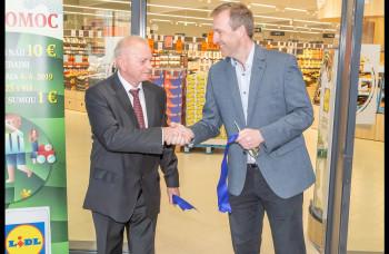 LIDL otvoril novú predajňu v Bojniciach