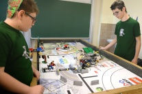Robotická súťaž First Lego