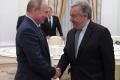 Putin a Guterres si preukázali vzájomný rešpekt