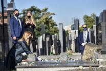 Prezidentka si uctila obete holokaustu