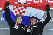 Filip Zubčič a Ivica Kostelič