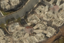 Ničivý požiar v v americkom meste Colorado Springs