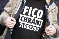 Opozičný protest v Bratislave
