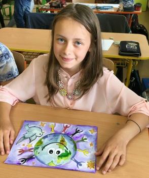 Víťazný výkres školáčky zo Sp. Vlachov bude predlohou pre pohľadnice