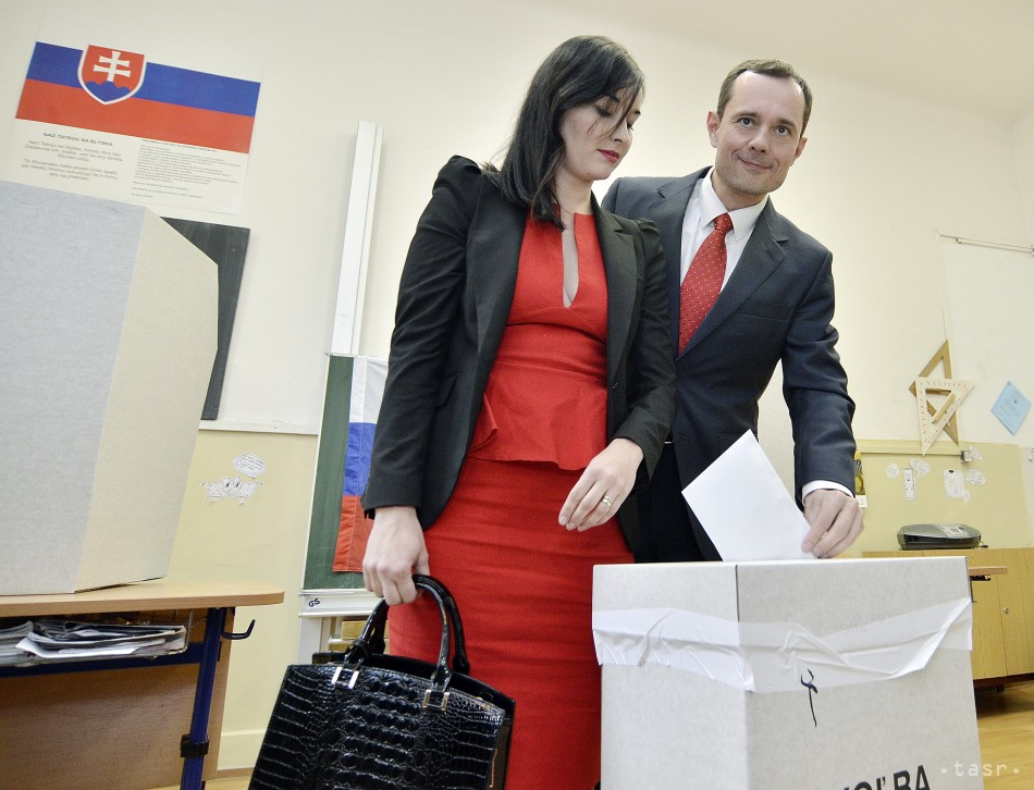 Radoslav Procházka volil prezidenta