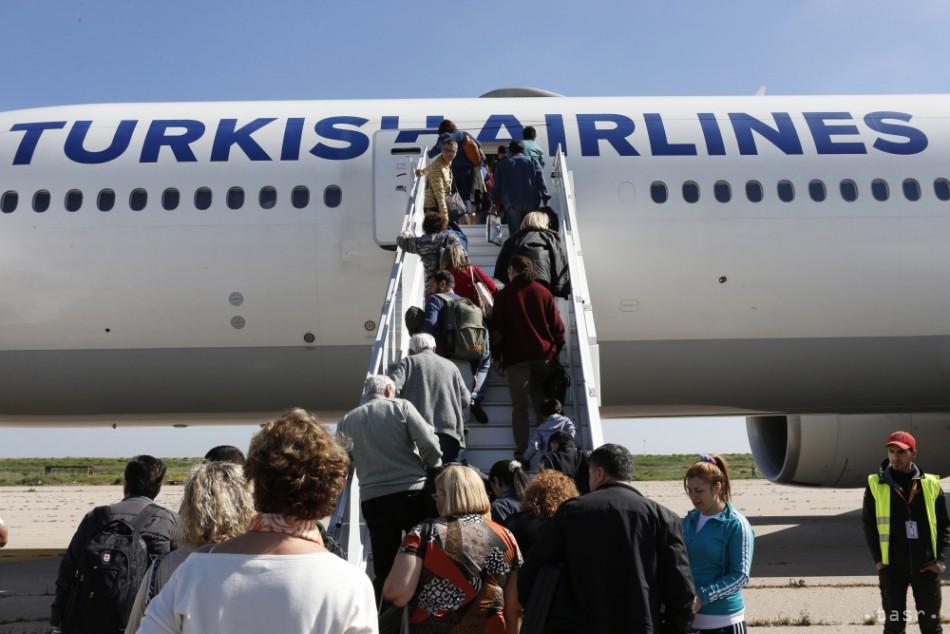 Turecké lietadlo muselo pristáť v Maroku. Dôvodom bol nápis na toalete