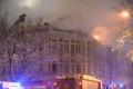 VIDEO: Požiar zničil strechu Prírodovedeckej fakulty UPJŠ v Košiciach