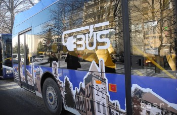 V Poprade spustili testovaciu prevádzku prvého slovenského elektrobusu