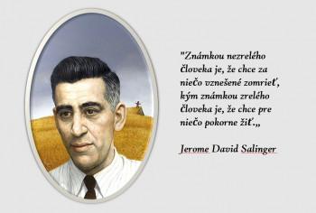 Pred 100 rokmi sa narodil autor románu Kto chytá v žite J. Salinger