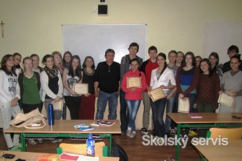 Týždeň aktívnej angličtiny na cirkevnom gymnáziu v Starej Ľubovni