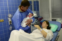 Malá Dorotka, prvé dieťa v Košickom kraji v roku 2