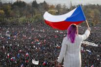 Masová demonštrácia v Prahe proti Babišovi