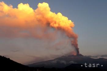 Najaktívnejšia európska sopka Etna dnes opäť pohrozila