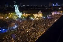 Bratislava, Zhromaždenie, Za slušné Slovensko