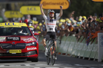Švajčiarsky cyklista Marc Hirschi