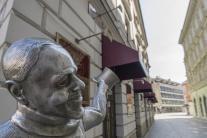 Prázdne ulice Bratislavy