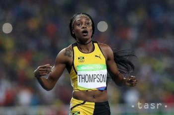 V Lausanne triumfovala Thompsonová, ktorá 100 m odbehla za 10,78 s