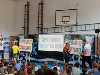 ZŠ SNP Šurany: Žiaci sa zúčastnili ekovýchovného koncertu