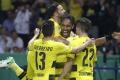 Vo finále Nemeckého pohára zvíťazil Dortmund nad Frankfurtom 2:1