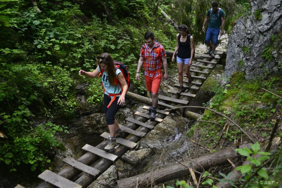 Roklina Suchá Belá je jednou z najnavštevovanejších lokalít v NP Slovenský raj.