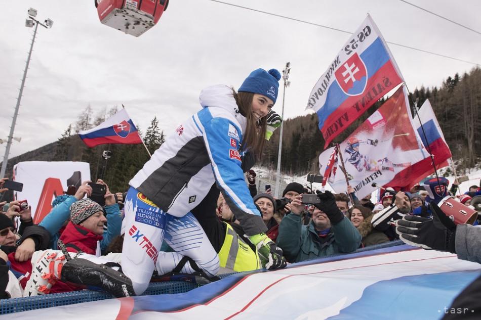 Vlhová druhá v slalome  Mikaela hovorila 9c8d2aeba51