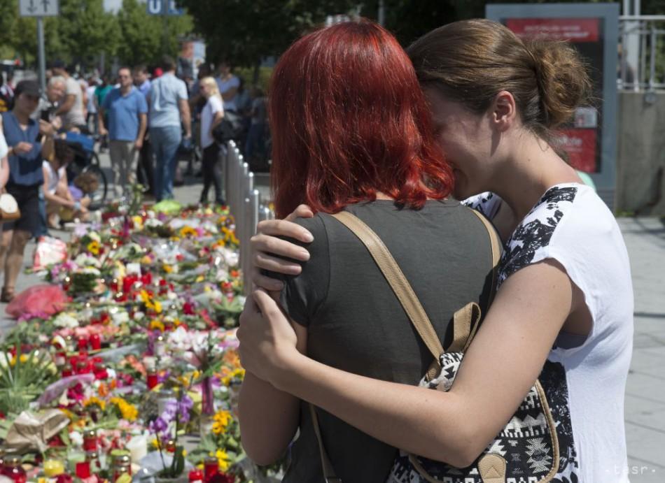 V Nemecku zadržali kamaráta útočníka z Mníchova, možno o čine vedel