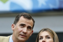 Španielsky korunný princ Felipe a princezná Letizi