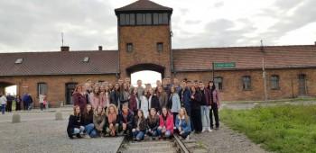 Exkurzia do poľských koncentračných táborov v Osvienčime a Brezinke
