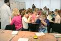 V Hornonitrianskom múzeu deti vyrábali fašiangové masky